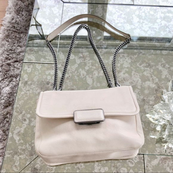 Marc by Marc Jacobs Handbags - Marc by Marc Jacobs Cream Chain Shoulder Bag